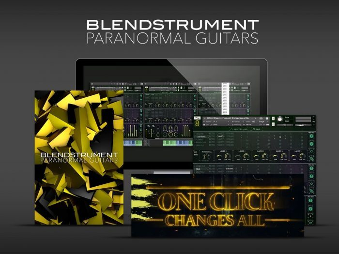 8Dio Blendinstrument Paranormal Guitars