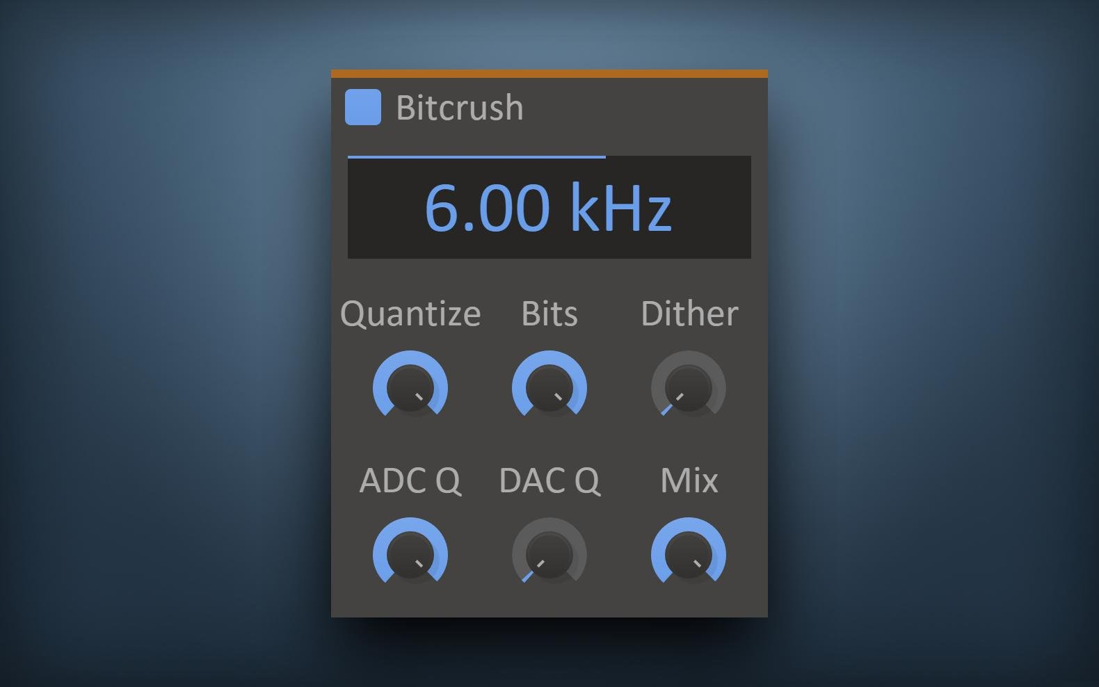 Kilohearts Bitcrush effect plugin (VST/AU/AAX) on sale at 50% OFF