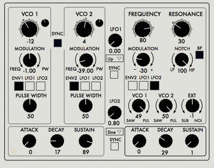 Max for Cats MSE Synthesizer System Editor