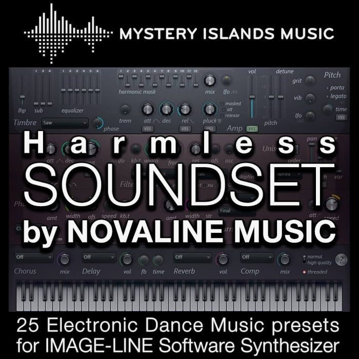 Mystery Islands Novaline Image Line Harmless Soundset