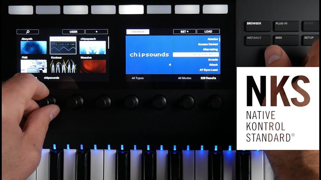 Plogue chipsounds & chipspeech synthesizers now NKS-ready +