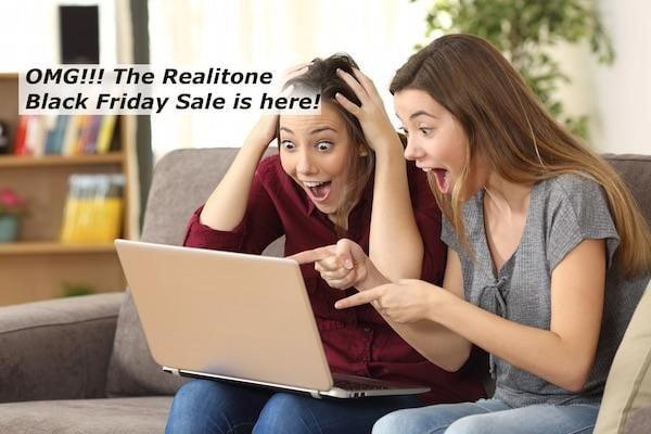 Realitone Black Friday: Save 50% off Realidrums & Realivox Ladies