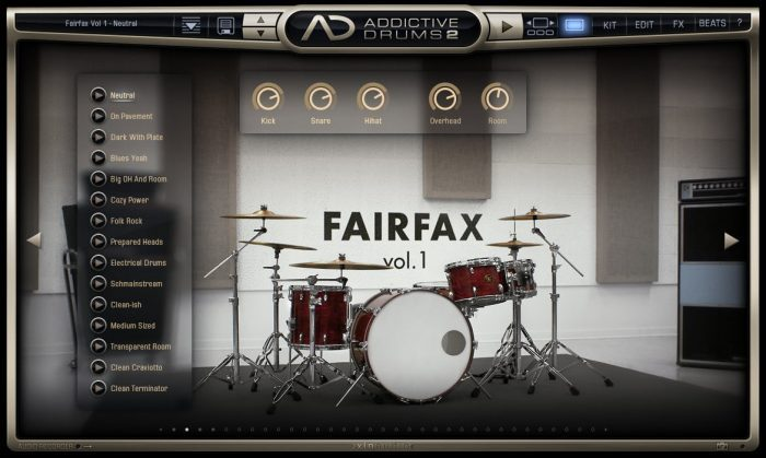 XLN Audio Addictive Drums 2