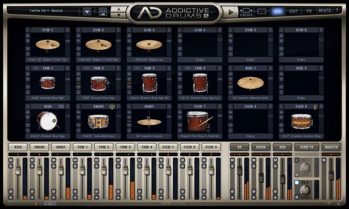 XLN Audio Addictive Drums 2 Kits