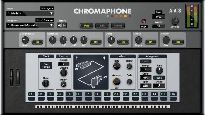 aas chromaphone 2 screenshot play