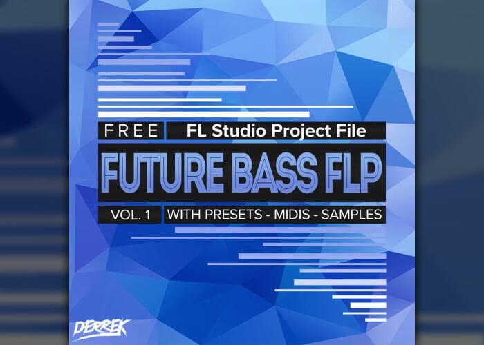Free Future Bass FLP project for FL Studio by Derrek
