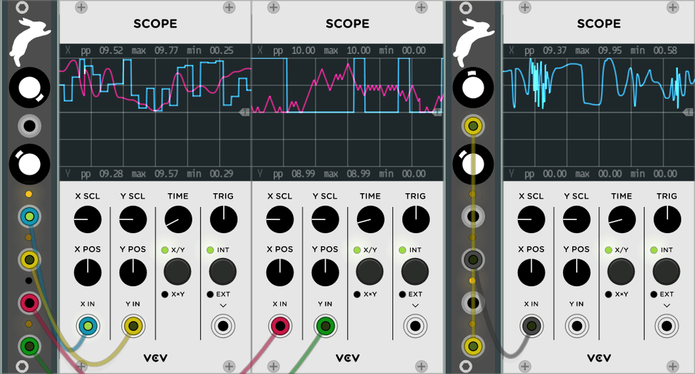 VCV Console mixer released + Hot Bunny, Vult modules
