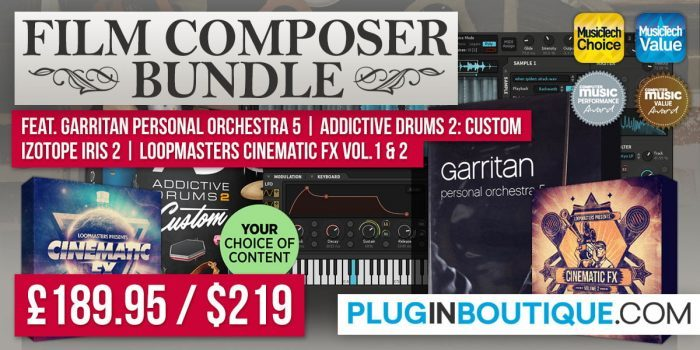 Plugin Boutique Film Composer Bundle