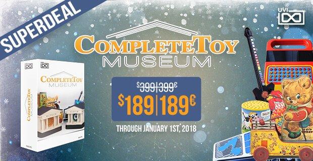 UVI CompleteToy Museum0PluginBoutique