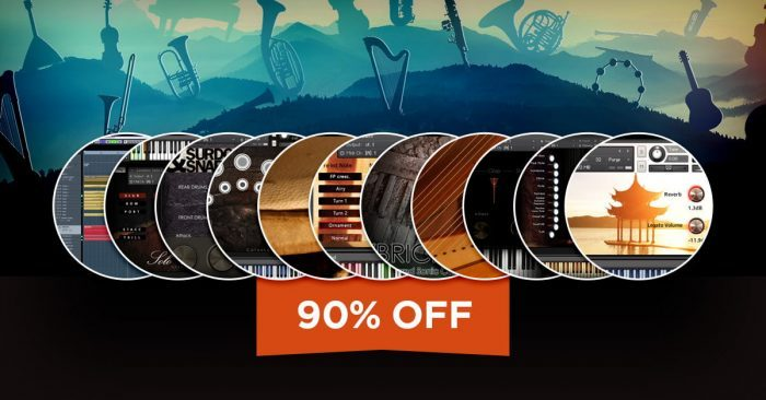 Aria Sounds Orchestral Bundle 90% OFF at VST Buzz