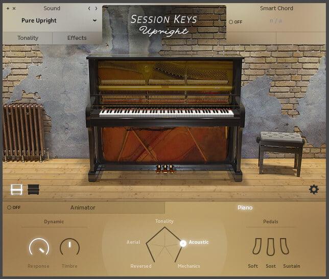 e-instruments releases Session Keys Upright for Kontakt Player