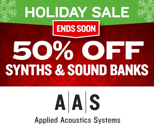 AAS Holiday Sale 2018 ends soon