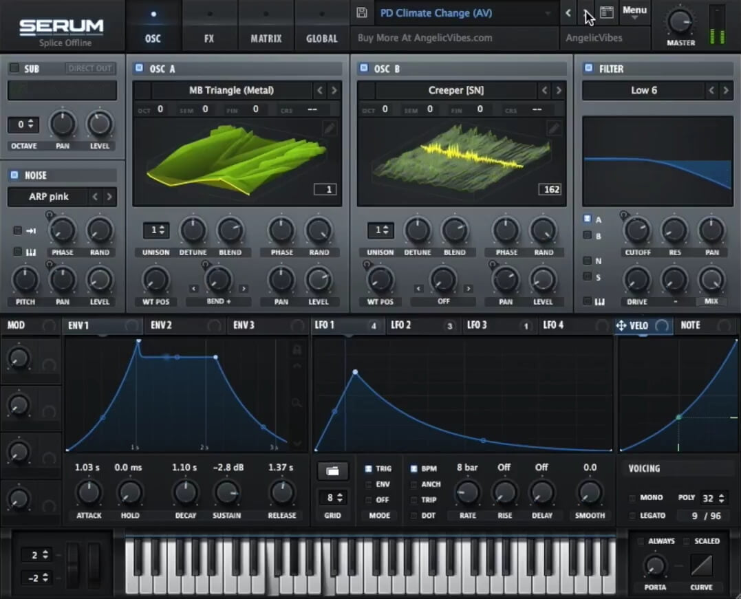 Free Serum presets available from AngelicVibes