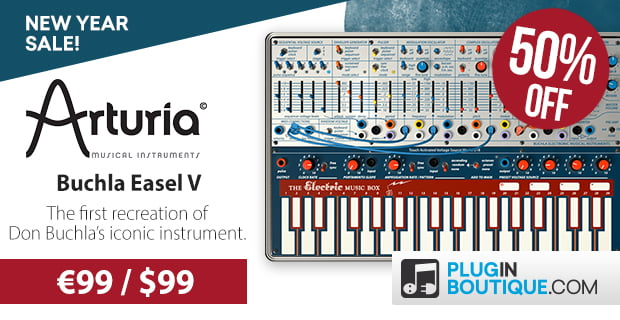 Save 50% off Arturia's Buchla Easel, CMI and DX7 virtual