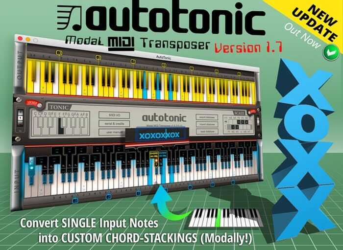 AutoTonic gets Interval- & Chord-Stacking in v1 7 update