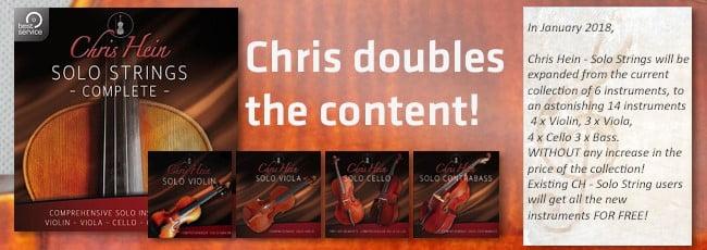 Chris Hein Solo Strings update