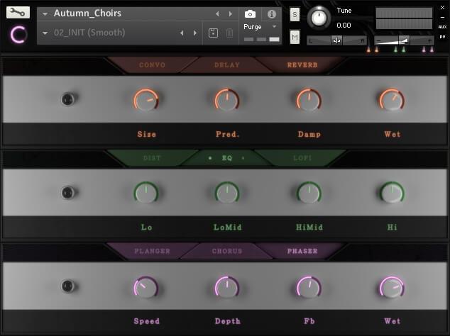 Sound Aesthetics Sampling Autumn Choirs fx