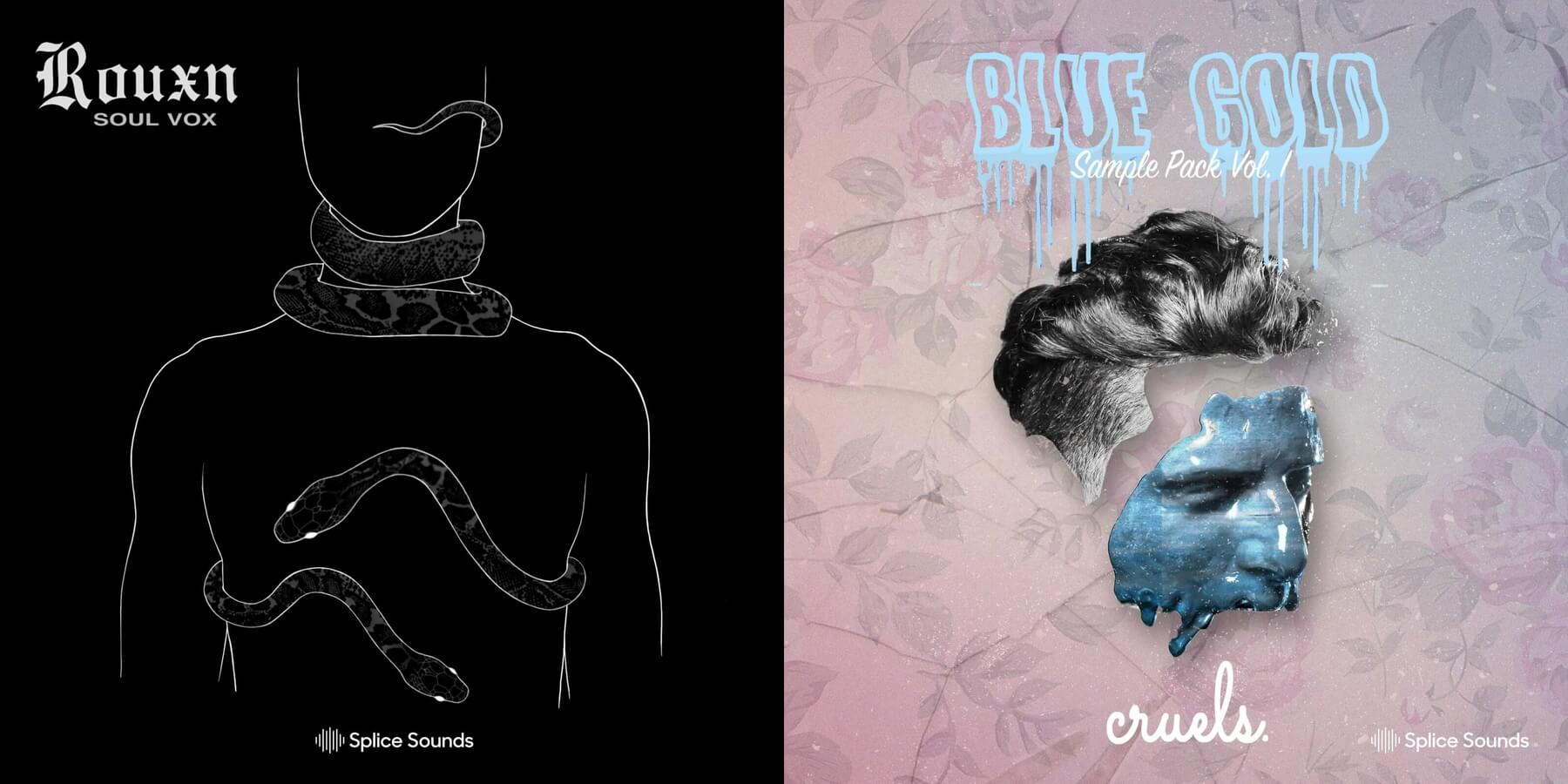Rouxn: Soul Vox & Cruels: Blue Gold Sample Pack available at