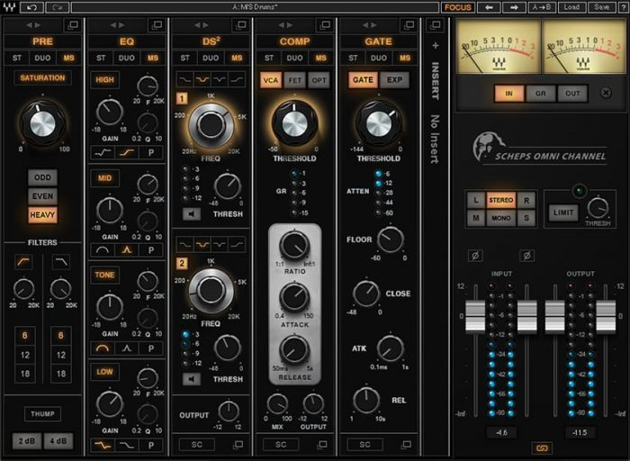 Waves Audio Scheps Omni Channel
