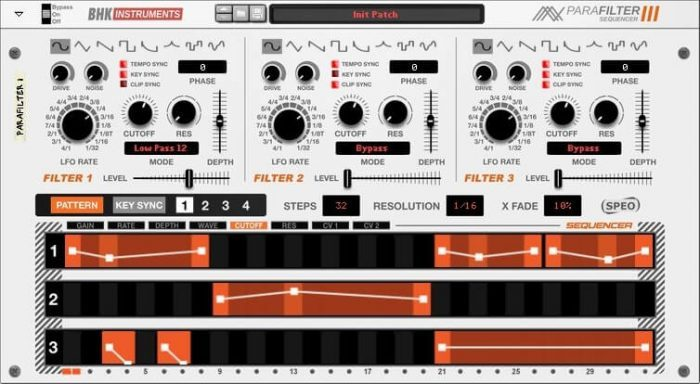 BHK Samples Parafilter III Sequencer