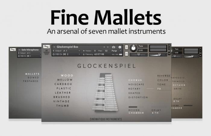 Cinematique Instruments Fine Mallets Bundle