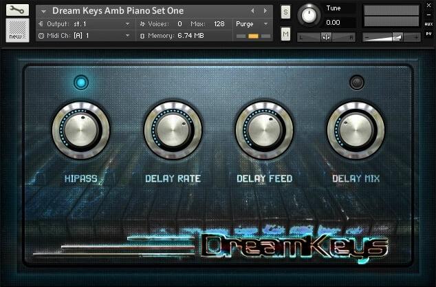 Dream Audio Tools Dream Keys Cinematic Piano