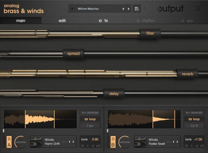 Output Analog Brass & Winds Main