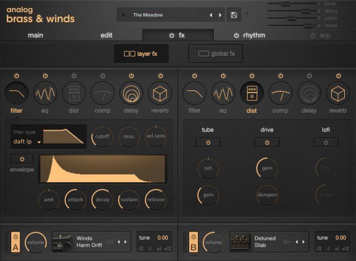 Output Analog Brass & Winds FX