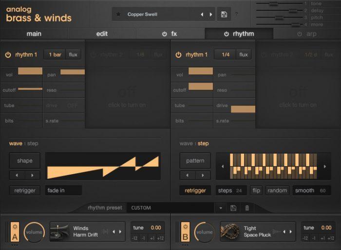 Output Analog Brass & Winds 4 Rhythm