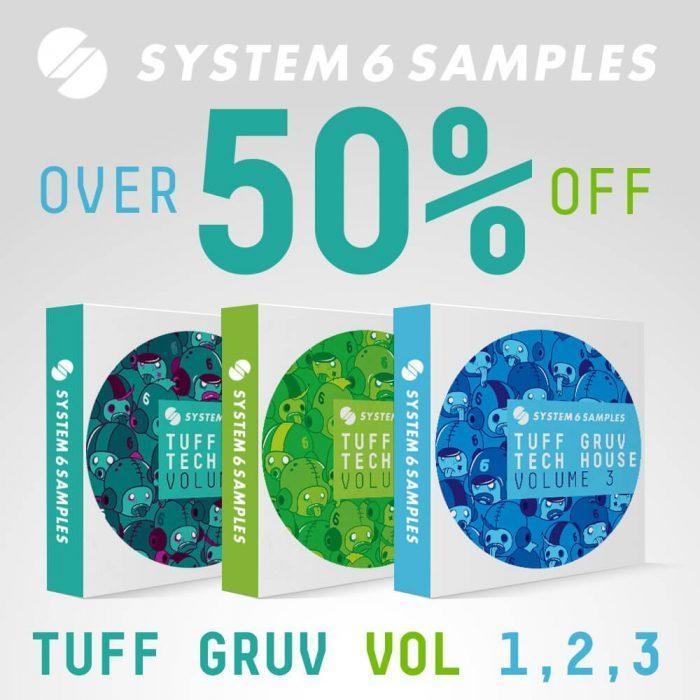 System 6 Samples Tuff Gruv Tech House Bundle
