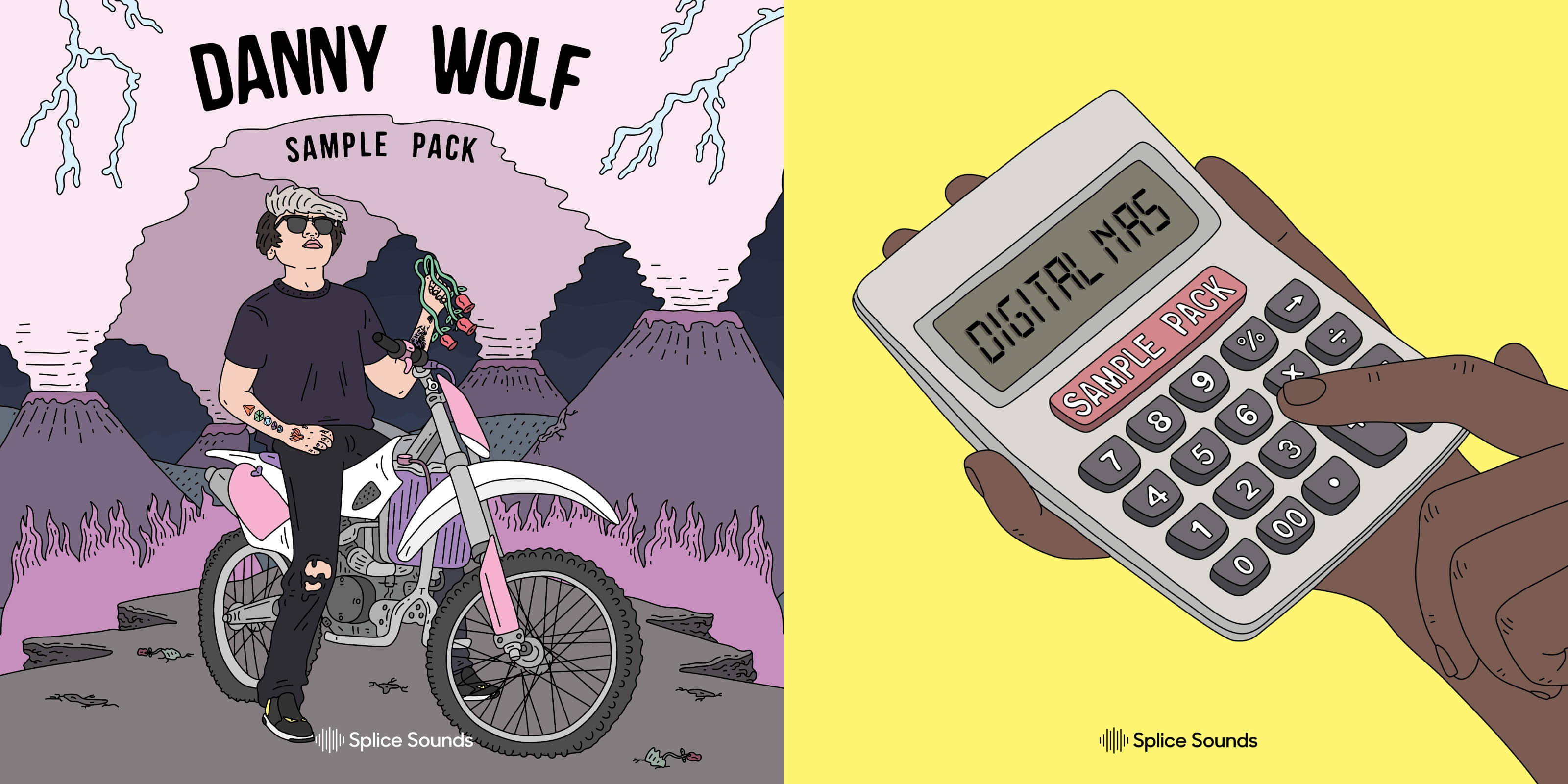 Digital Nas & Danny Wolf Sample Packs available from Splice