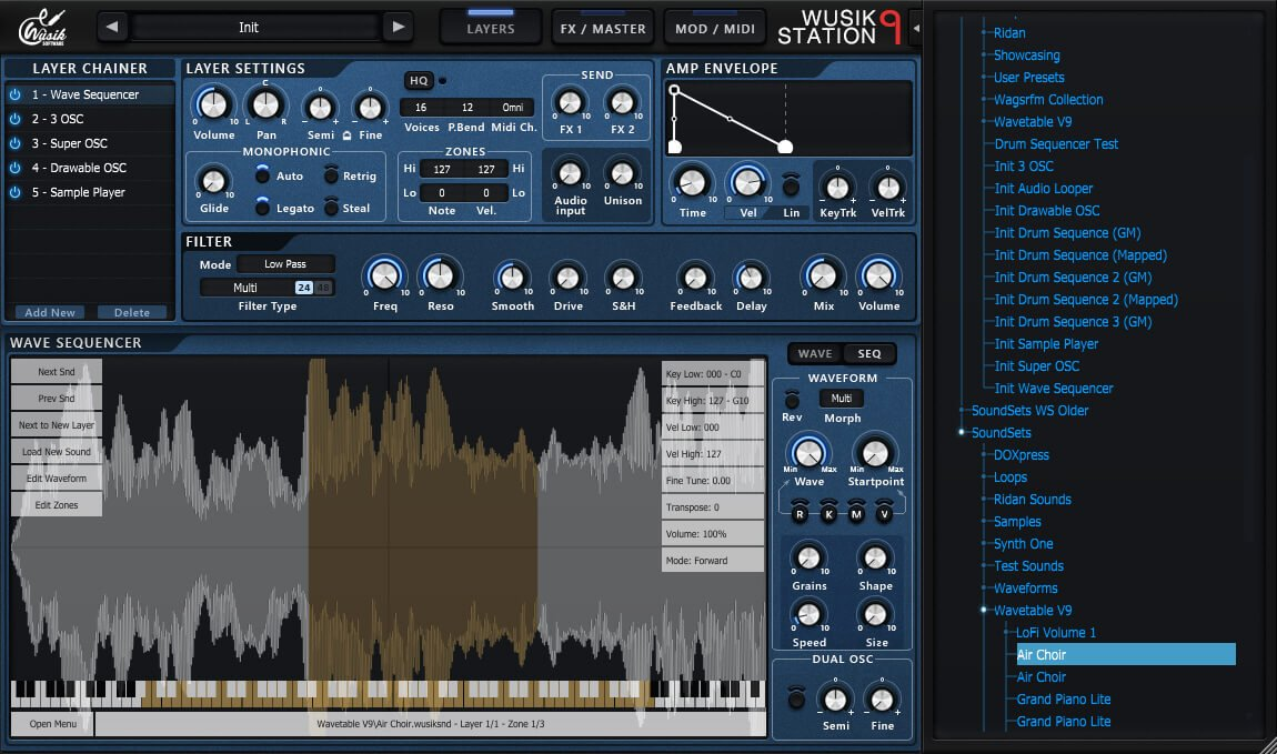 Wusik releases Wusik Station V9 synth plugin for Windows & Mac