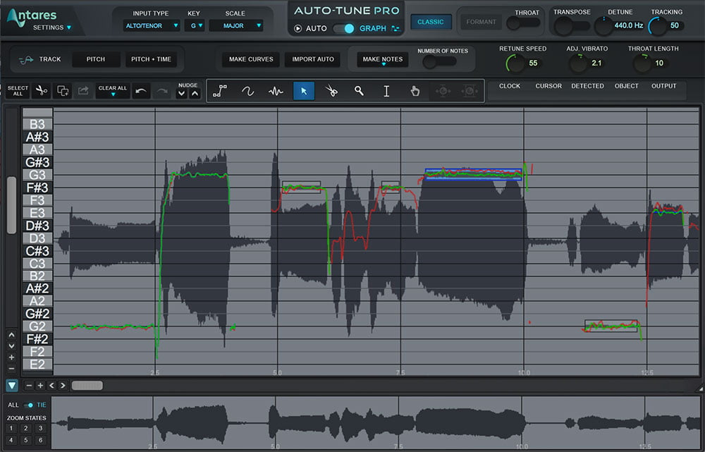 Auto Tune Graphical Mode Time