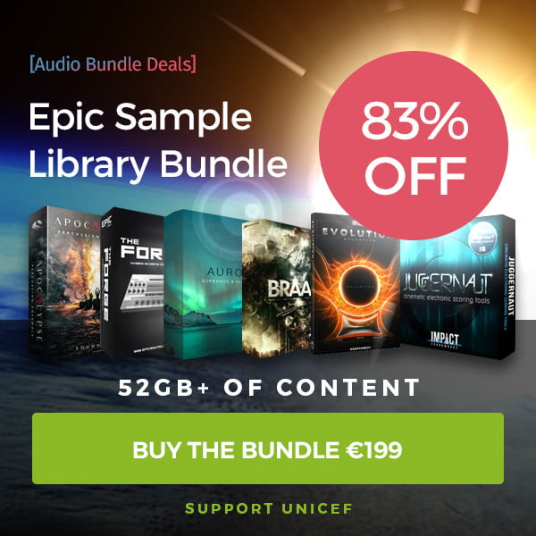 Audio Bundle Deals launches Epic Sample Library Bundle Vol