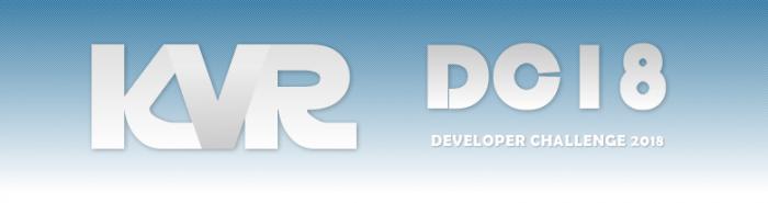 KVR Audio announces KVR Developer Challenge 2018