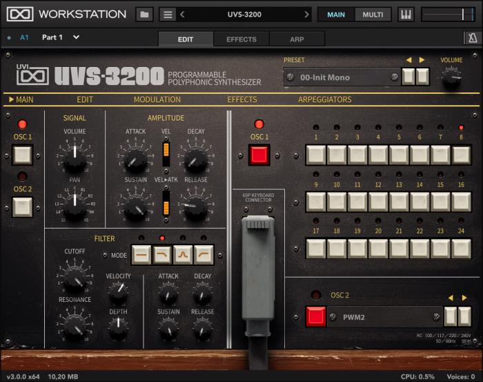 UVI Workstation 3 UVS-3200