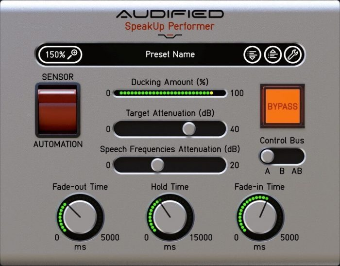Audified SpeakUp Performer