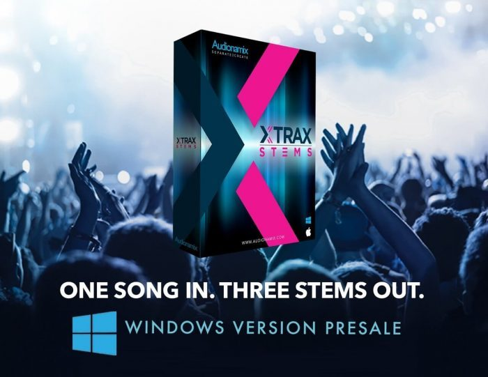 Pre-order Audionamix XTRAX Stems for Windows at 20% OFF