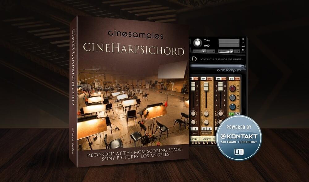 Cinesamples releases CineHarpsichord virtual harpsichord