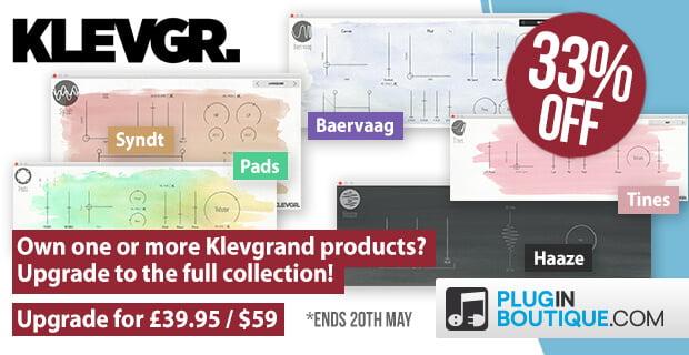 Klevgr upgrade sale