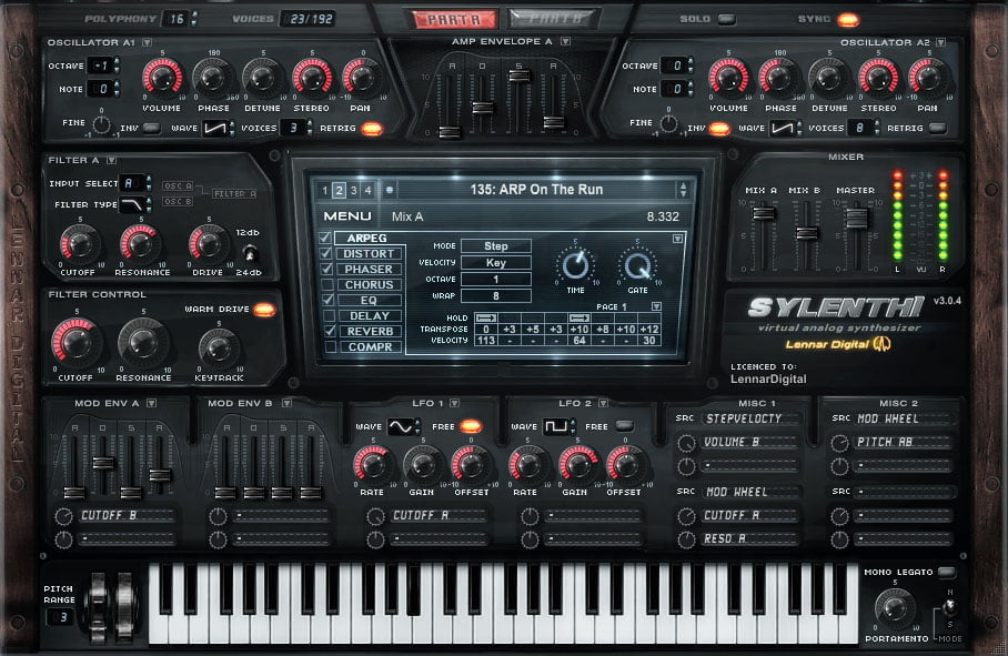 Lennar Digital updates Sylenth1 synth plugin to v3 040
