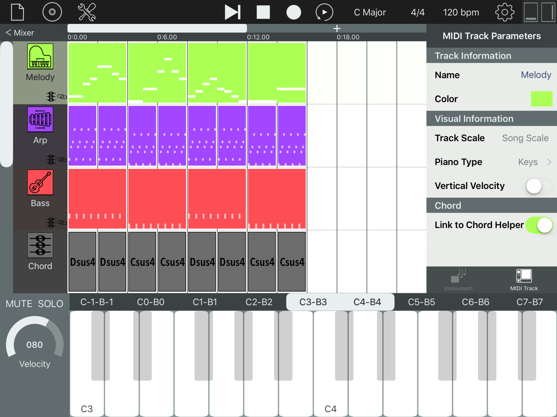 Sequencism free sequencer app for iOS gets AU MIDI for AUv3