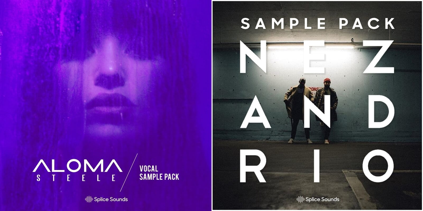 New samples from Aloma Steele & Nez and Rio at Splice Sounds