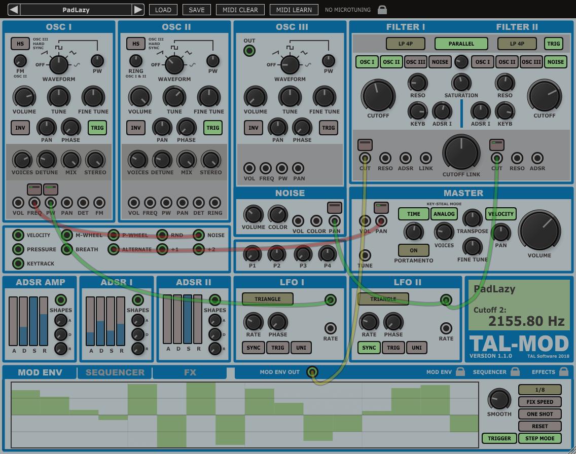 Togu Audio Line updates TAL-Mod synth plugin to v1 1 0 +