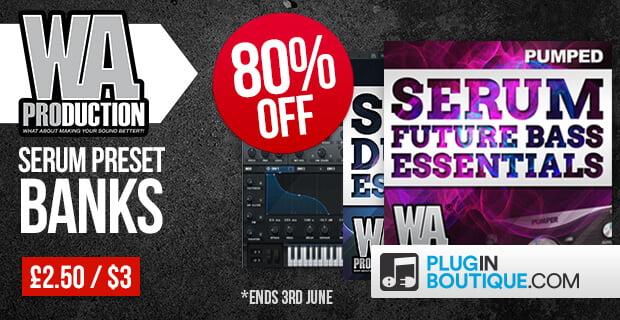 Pumped: Serum Dubstep & Future Bass Essentials 50% OFF
