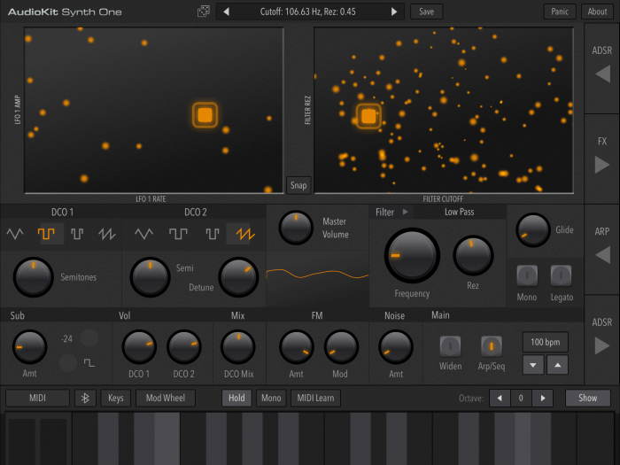 AudioKit Synth One 03