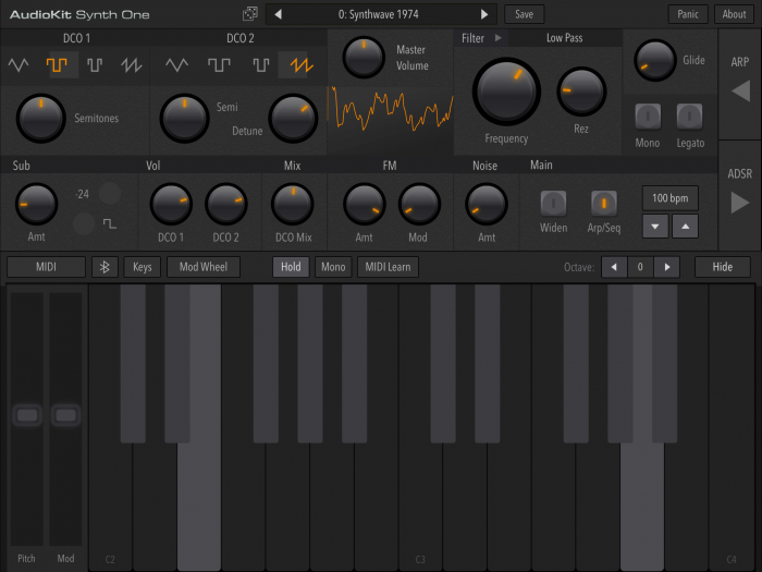 AudioKit Synth One 05