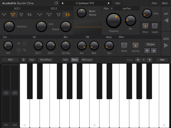 AudioKit Synth One 06