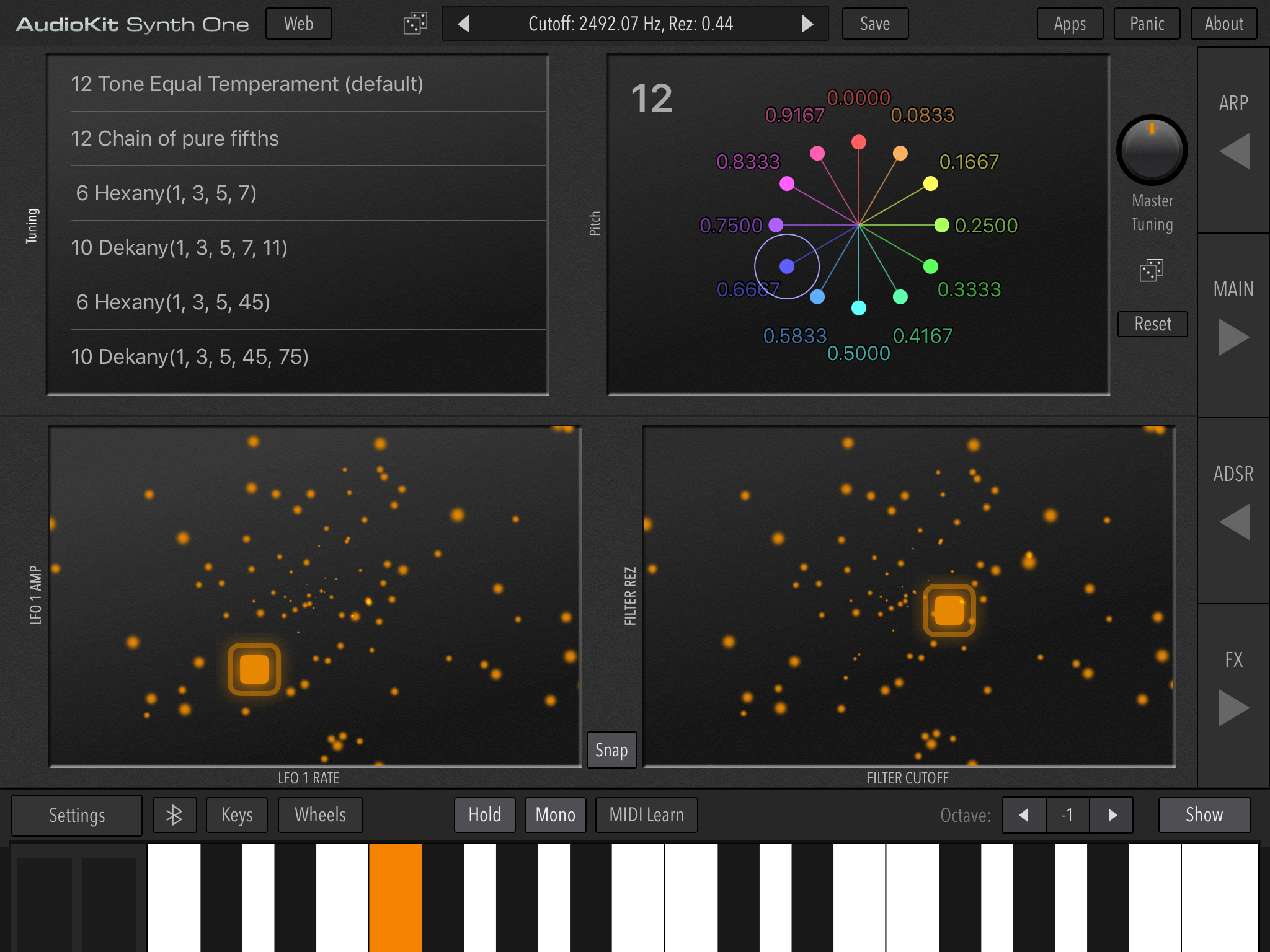 AudioKit Synth One open-source iOS synthesizer now available