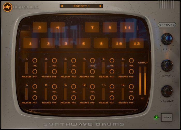BeatSkillz Synthwave Drums screen